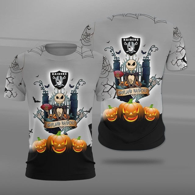 Las Vegas Raiders Halloween T-shirt