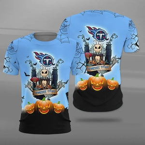 Tennessee Titans Halloween T-shirt