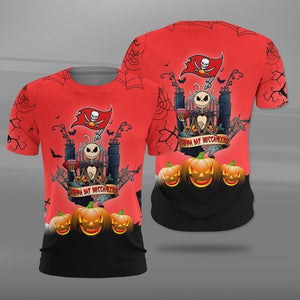 Tampa Bay Buccaneers Halloween T-shirt