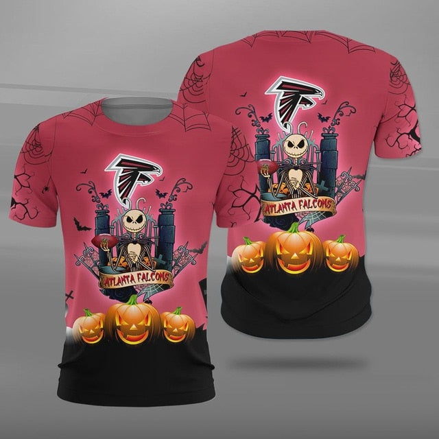 Atlanta Falcons Halloween T-shirt