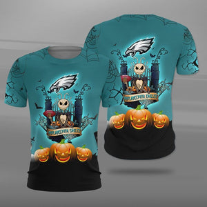 Philadelphia Eagles Halloween T-shirt