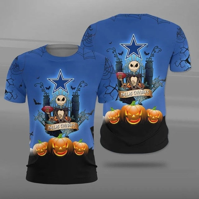 Dallas Cowboys Halloween T-shirt