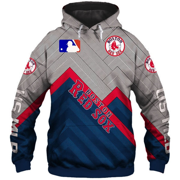 Boston Red Sox 3D Hoodie