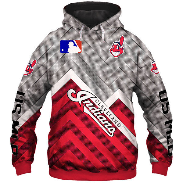 Cleveland Indians 3D Hoodie