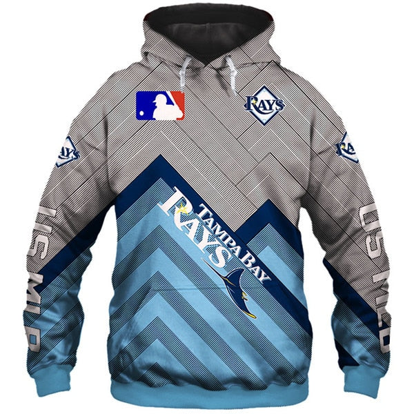 Tampa Bay Rays 3D Hoodie