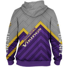 Load image into Gallery viewer, Minnesota Vikings 3D Hoodie