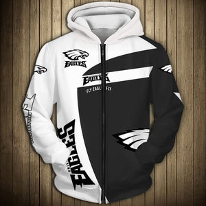 Philadelphia Eagles Casual Zipper Hoodie