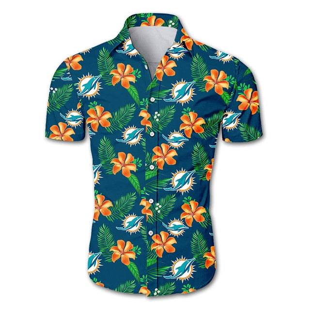 Miami Dolphins Summer Cool Shirt