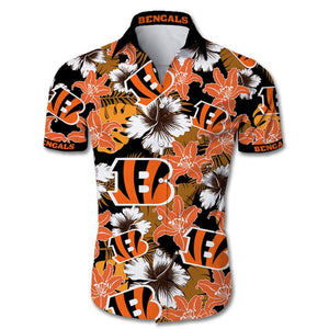 Cincinnati Bengals Hawaiian Shirt