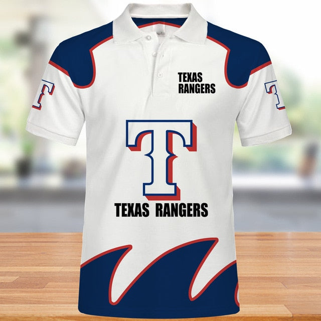 Texas Rangers Polo Shirt