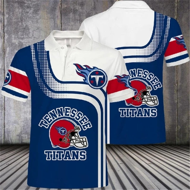 Tennessee Titans Casual Polo Shirt