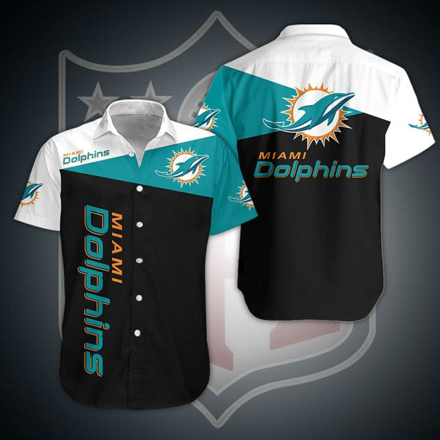 Miami Dolphins Casual Shirt