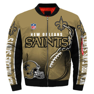 New Orleans Saints Casual Thick Jacket