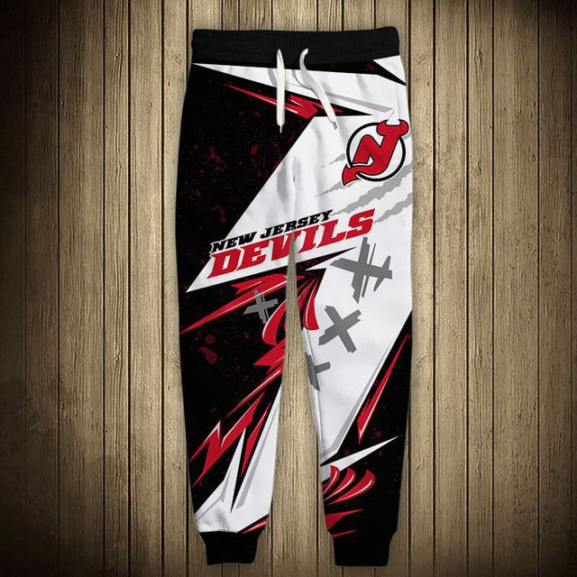 New Jersey Devils Graffiti Sweatpants