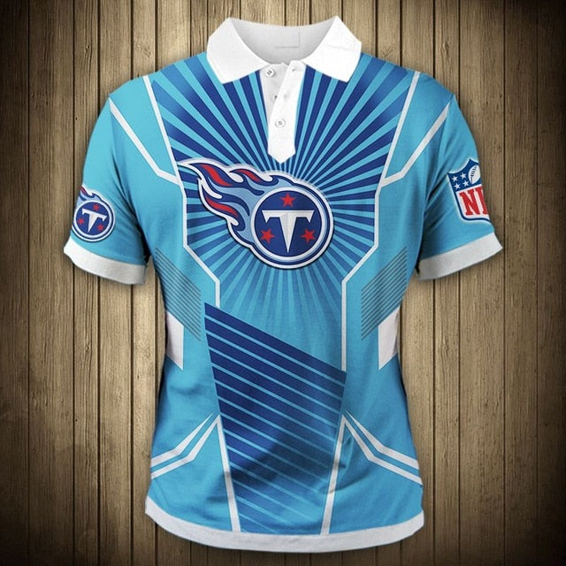 Tennessee Titans Sunlight Casual Polo Shirt