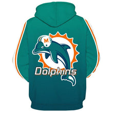 Load image into Gallery viewer, Miami Dolphins Hoodie