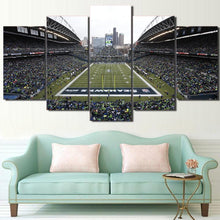 Load image into Gallery viewer, Seattle Sea Hawks Stadium Canvas