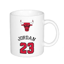 Load image into Gallery viewer, Chicago Bulls No.23 Jordan Mugs