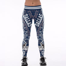 Load image into Gallery viewer, Dallas Cowboys High Waist Legging