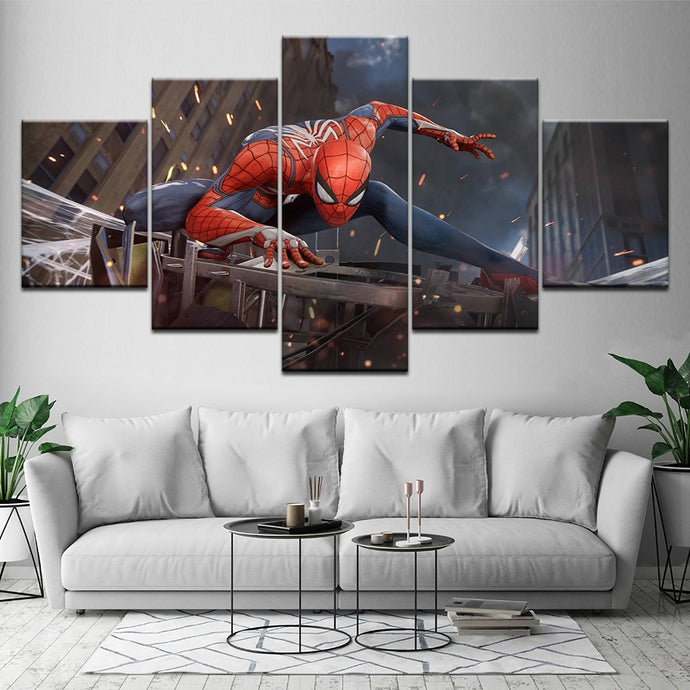 Spiderman Wall Art Canvas