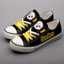 Load image into Gallery viewer, Pittsburgh Steelers Casual Shoes