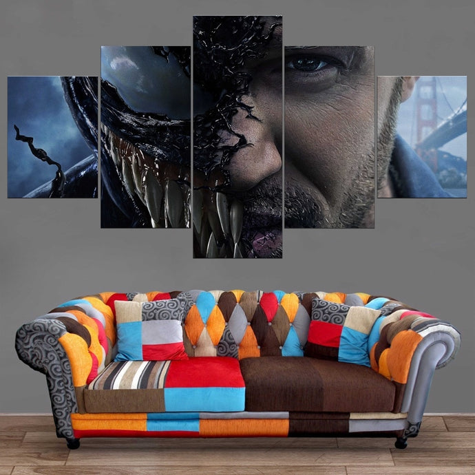 Venom Tom Hardy Wall Art Canvas