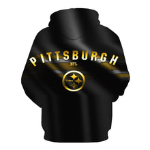 Load image into Gallery viewer, Pittsburgh Steelers 3D Hoodie