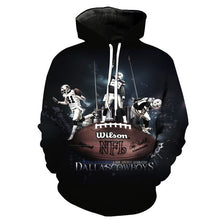 Load image into Gallery viewer, Dallas Cowboys 3D Hoodie