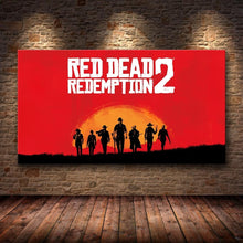 Load image into Gallery viewer, Red Dead Redemption 2 Wall Canvas