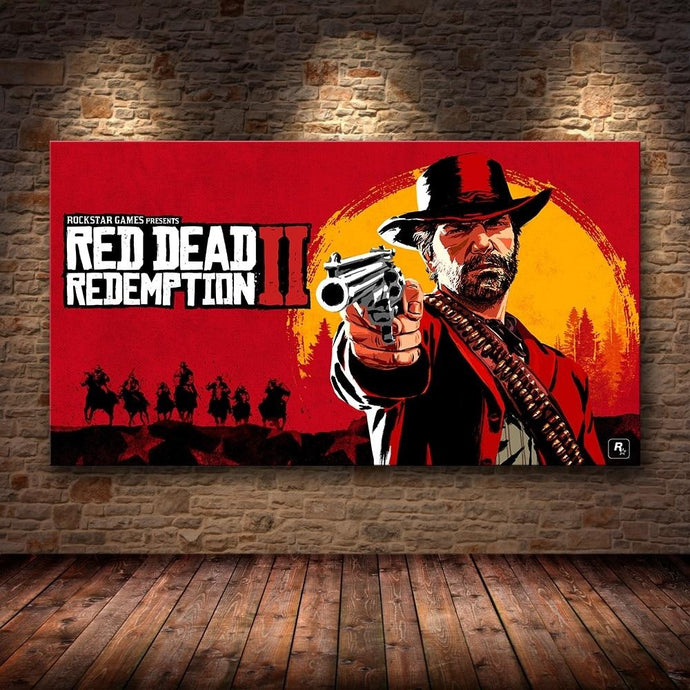 Red Dead Redemption 2 Wall Art