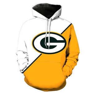 Green Bay Packers 3d Hoodies