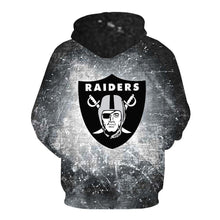 Load image into Gallery viewer, Las Vegas Raiders 3d Hoodie