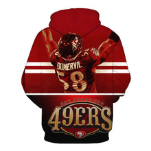 Load image into Gallery viewer, San Francisco 49ers 3d Hoodies