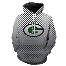 Load image into Gallery viewer, Green Bay Packers 3d Steal Look Hoodies
