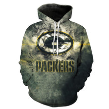 Load image into Gallery viewer, Green Bay Packers 3d Hoodie