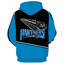 Load image into Gallery viewer, Carolina Panthers 3D Hoodie
