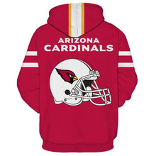 Load image into Gallery viewer, Arizona Cardinals 3D Hoodie