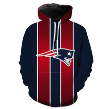 Load image into Gallery viewer, New England Patriots 3D Hoodie