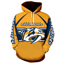 Load image into Gallery viewer, Nashville Predators 3D Hoodie