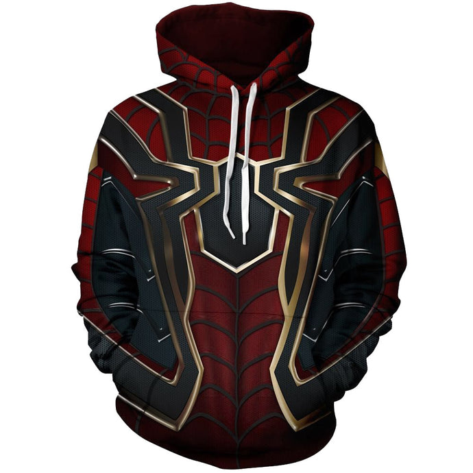 The Avengers Spiderman 3D Hoodies