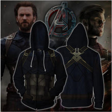 Load image into Gallery viewer, Avengers Captain America Hoodie