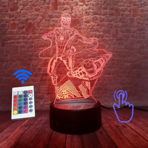 Iron Man 3D Illusion LED Night Light