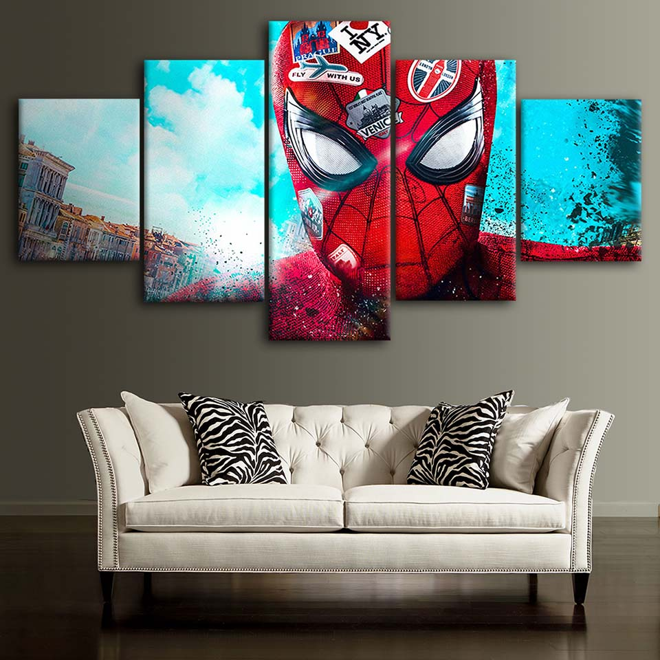 Spiderman Wall Art Canvas 4