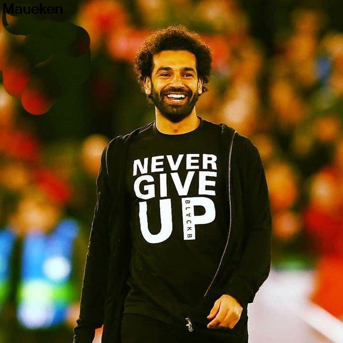Never Give Up Liverpool T Shirt