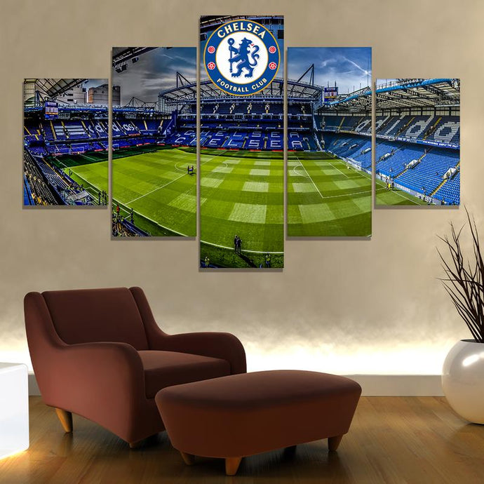 Chelsea F.C. Stadium Wall Art Canvas