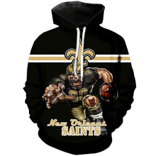 Load image into Gallery viewer, New Orleans Saints 3D Hoodie