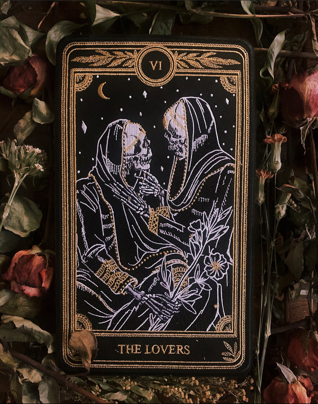 """The Lovers"" Large Embroidered Back Patch"