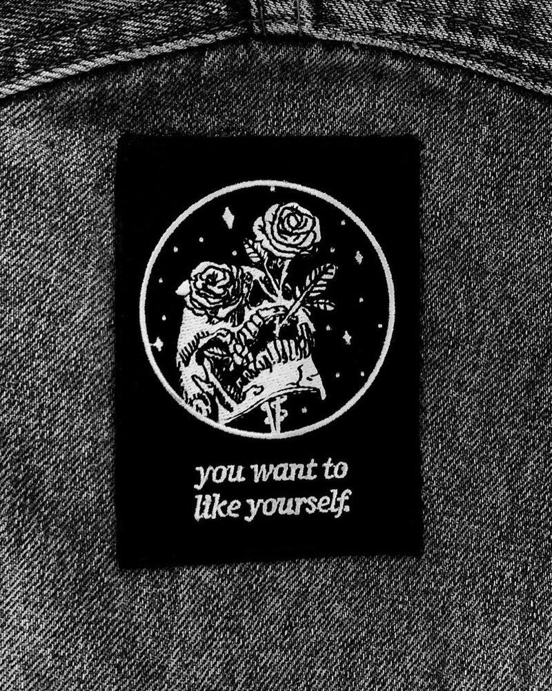 """Like Yourself"" Embroidered Patch"