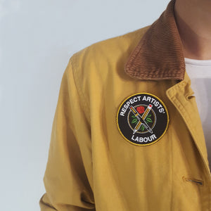 """Respect Artists' Labour"" Embroidered Patch"