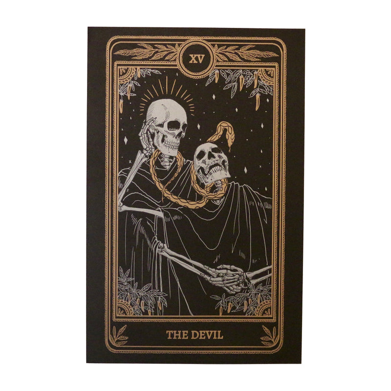 Marigold Tarot Print - The Devil